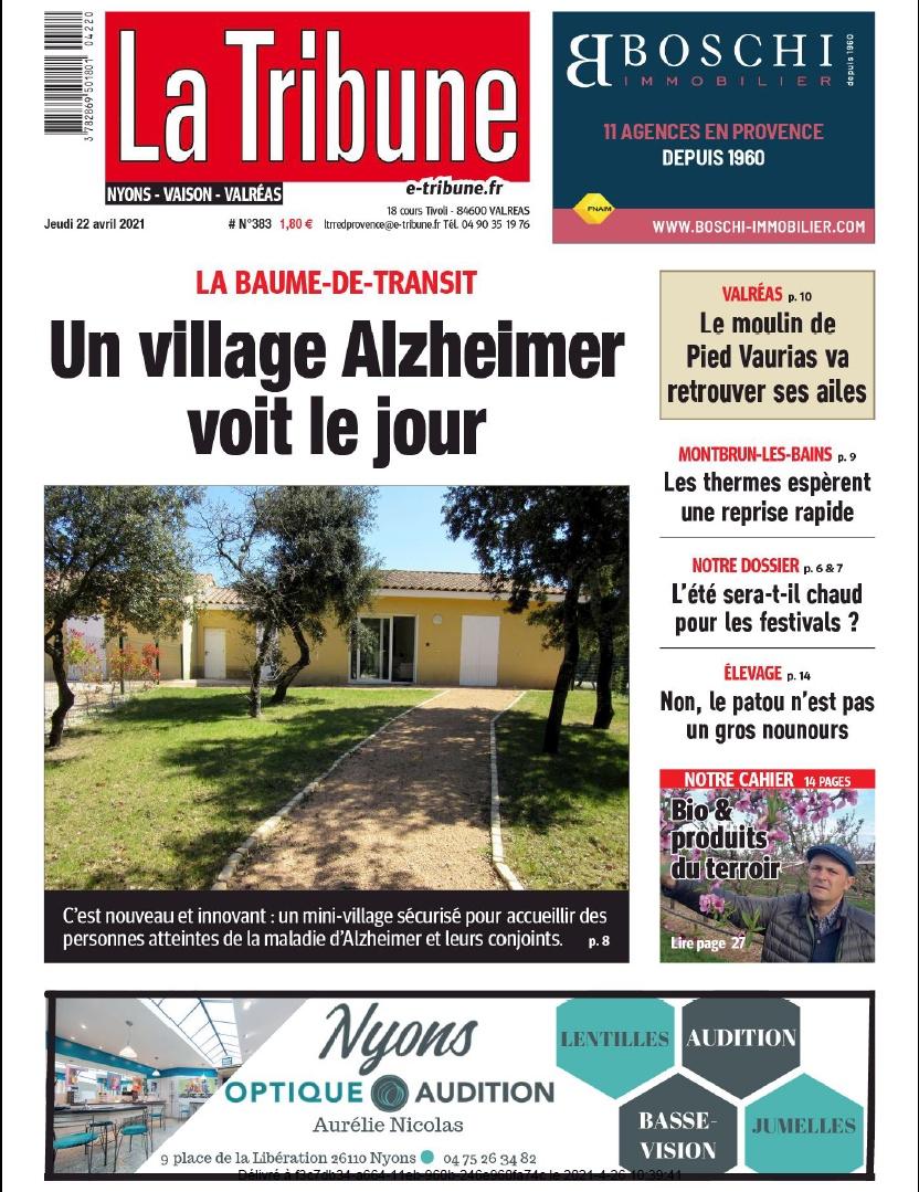 La TRIBUNE - Un village Alzheimer voit le jour